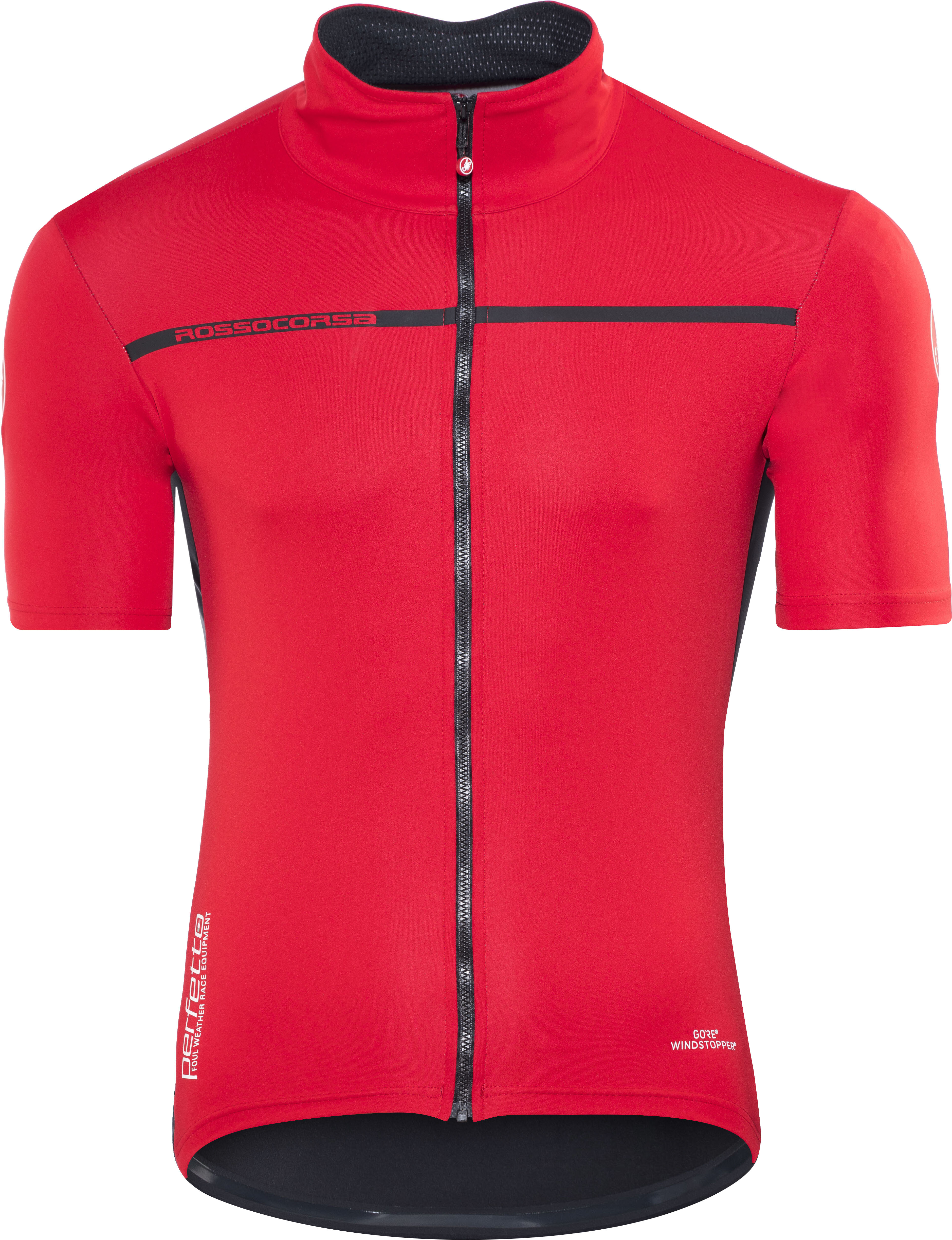 Castelli Perfetto Light 2 Bike Jersey Shortsleeve Men red at ... 943530f15